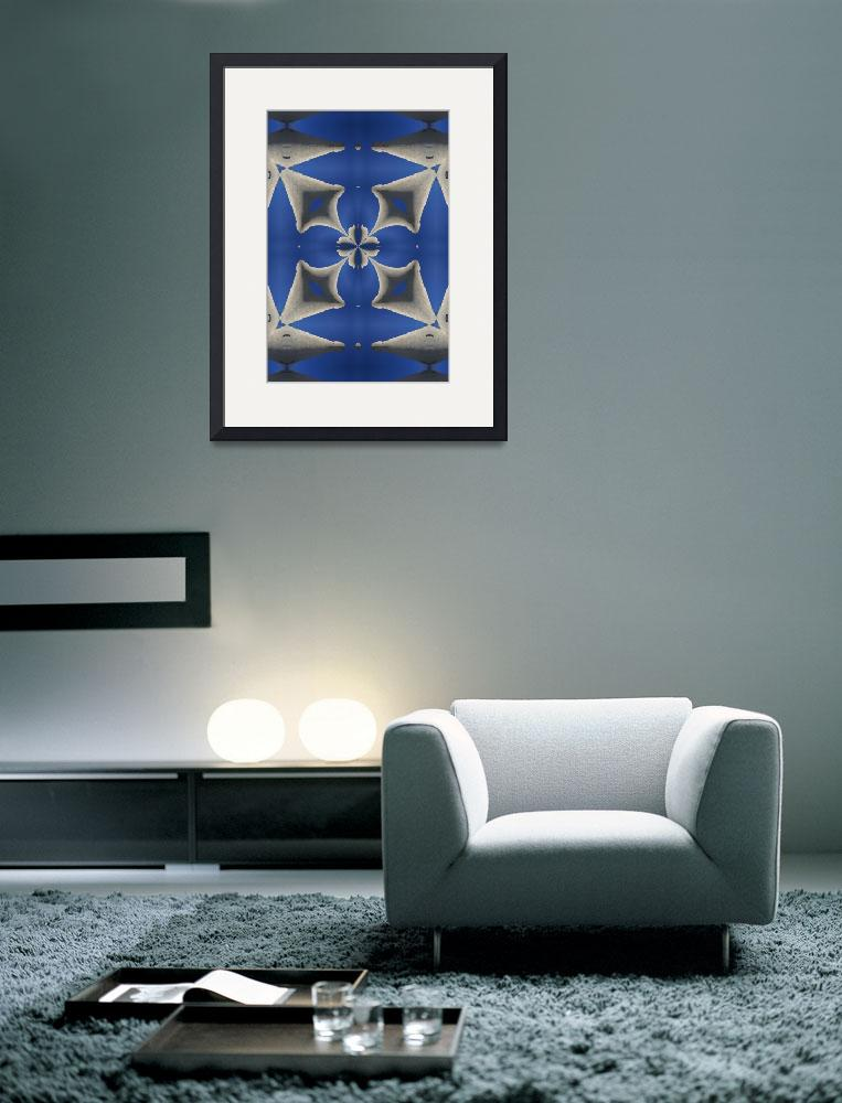 """""""Magritte's Kaleidoscopic Blues DSC02470k7&quot  by w3imagery"""