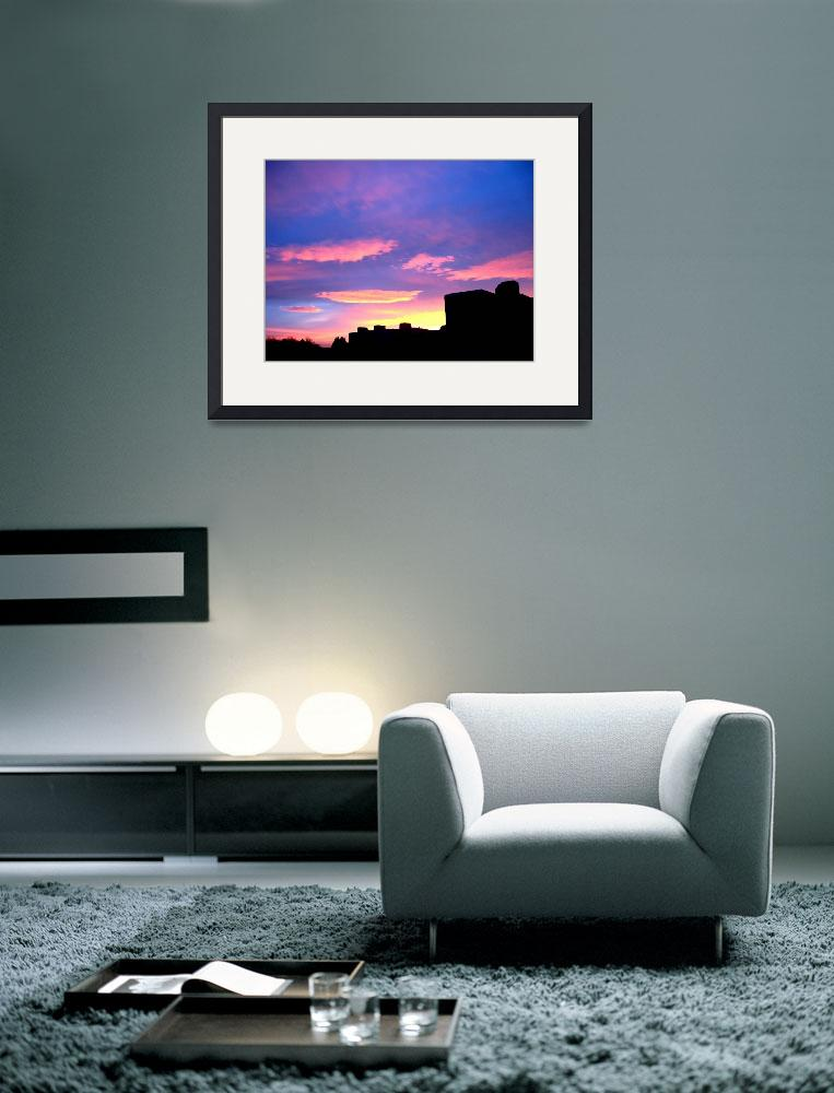 """Silhouette Sky""  (2008) by markdowdell"