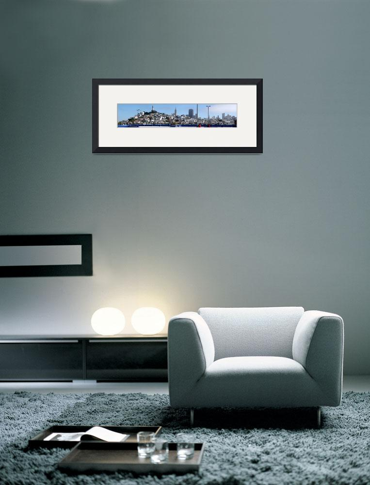 """San Francisco Panorama""  (2011) by hlehnerer"