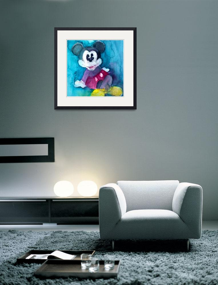 """""""Mickey Mouse&quot  (2012) by dfrdesign"""