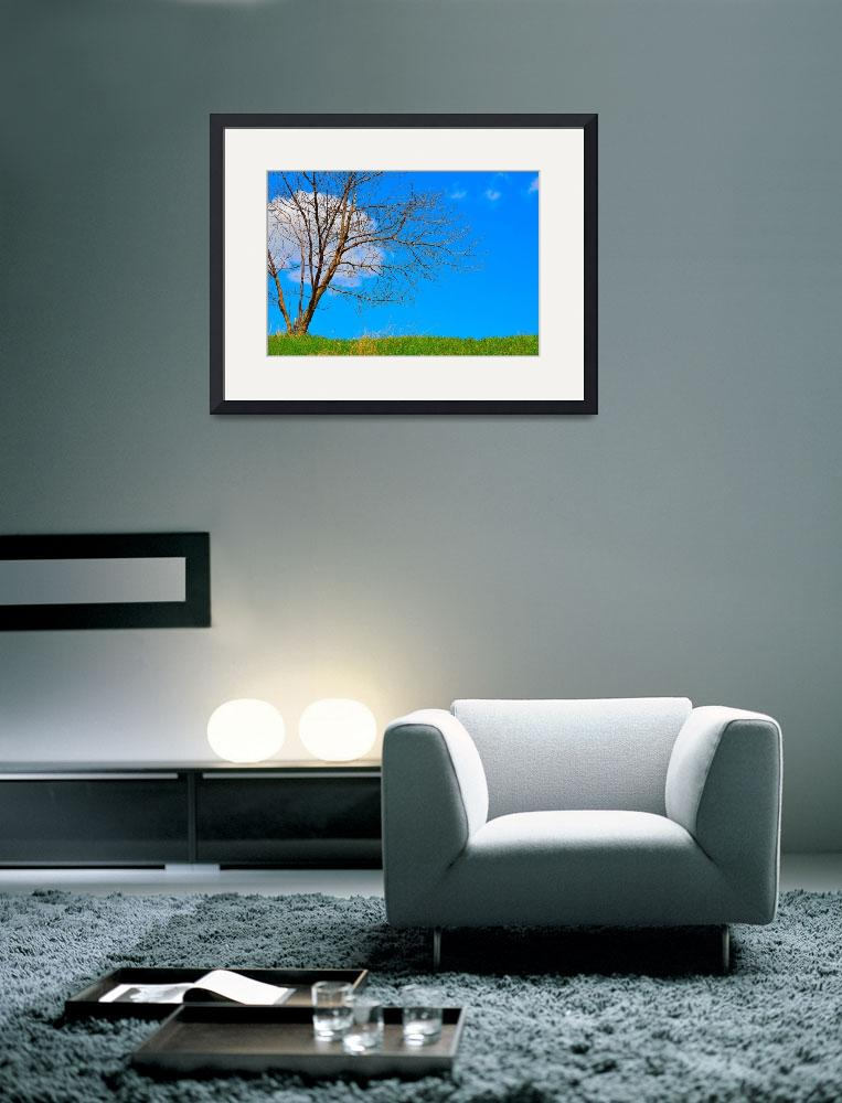 """""""Blue Sky&quot  (2014) by joanhan"""