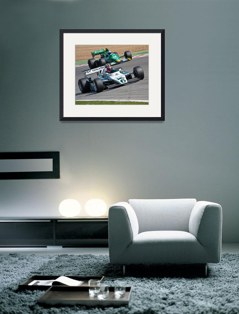 """Williams FW08 and Tyrrell 012&quot  by querth"