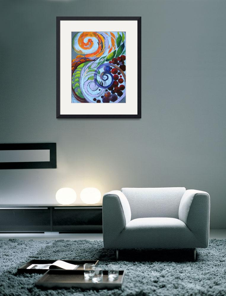 """""""Swirls & Pearls&quot  (2008) by LauraGable"""