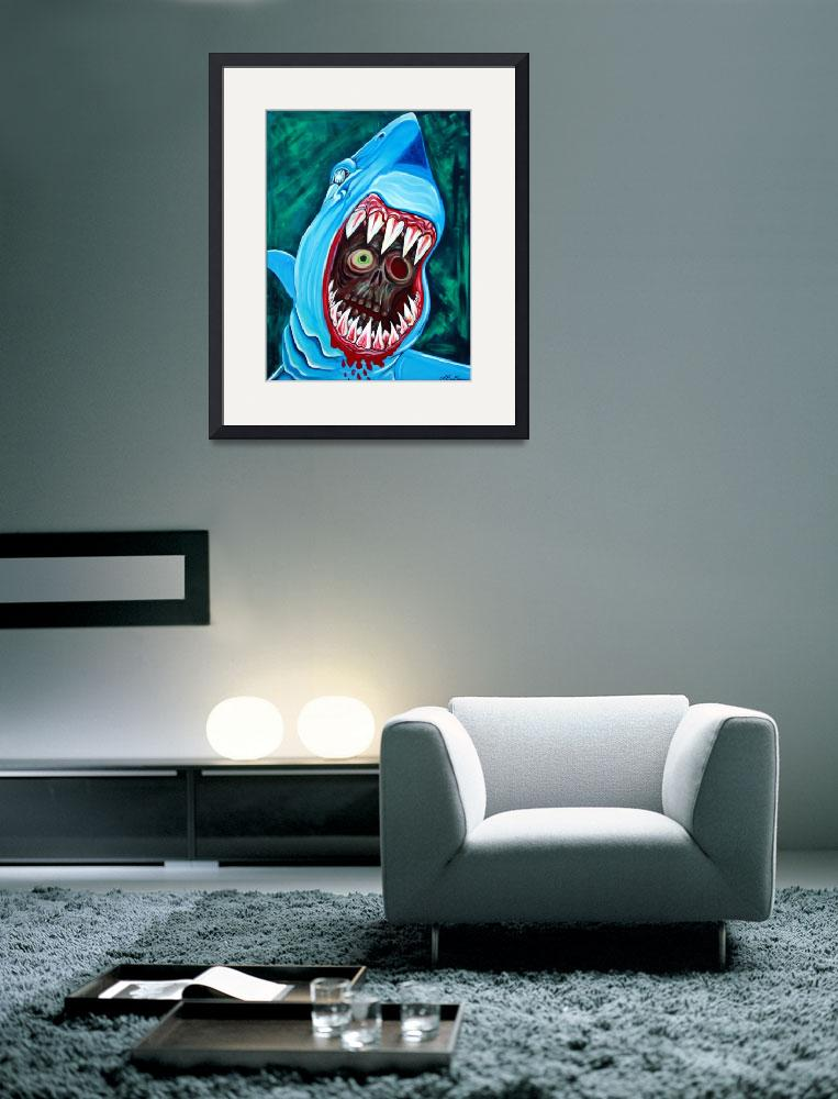 """""""Great White Gobstopper&quot  (2012) by ArtPrints"""
