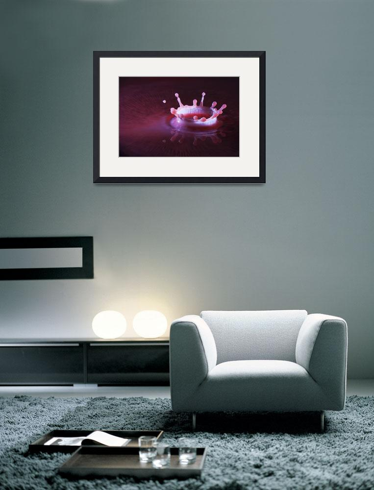 """""""White Crown on Blood""""  (2009) by matudesign"""