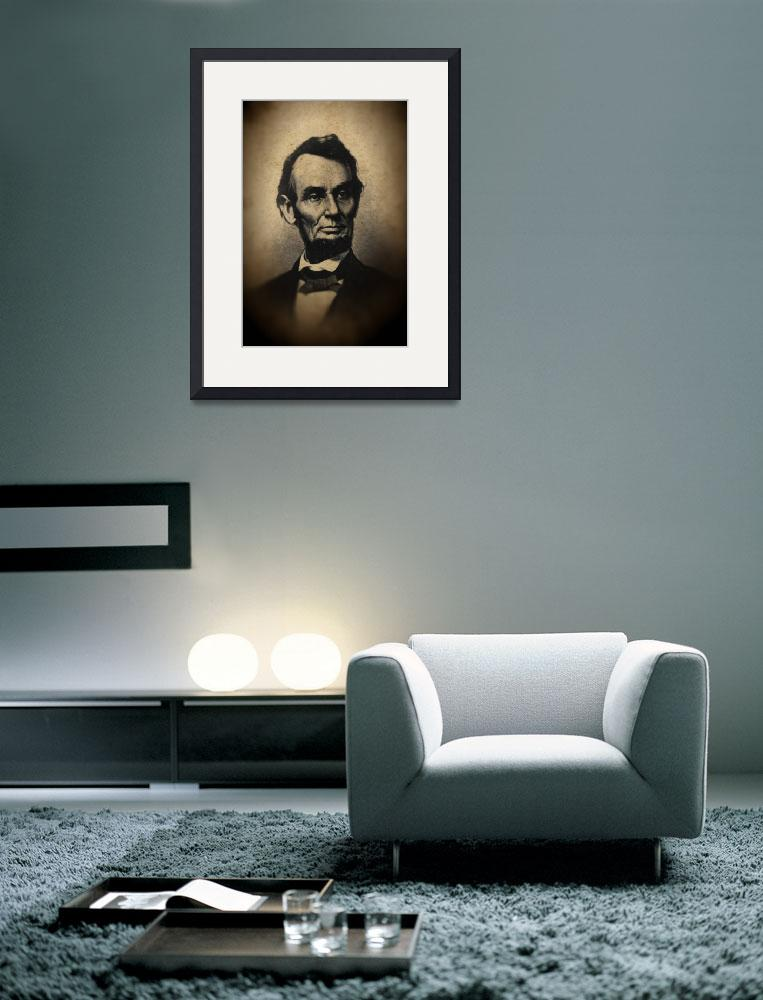 """""""Vintage Civil War Era Abraham Lincoln&quot  by bloomingvinedesign"""