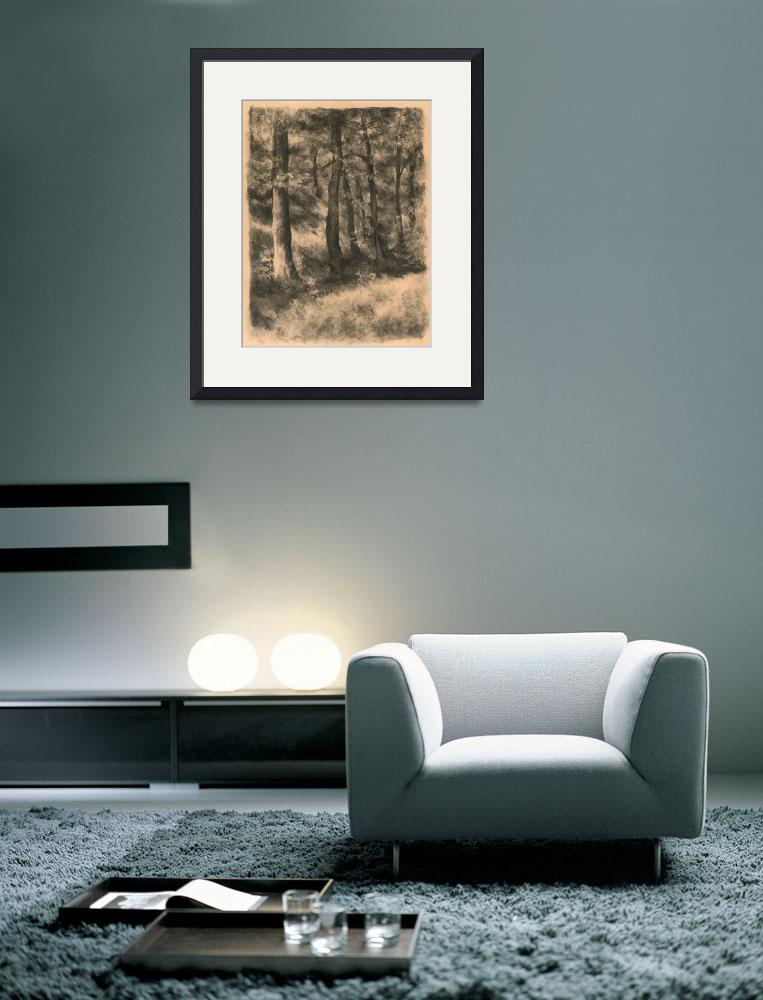 """""""Charcoal Forest""""  (2010) by JoBradney"""