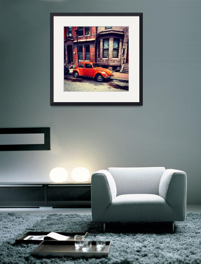 """Orange Buggy on Delancey&quot  (2014) by theJasonKnight"