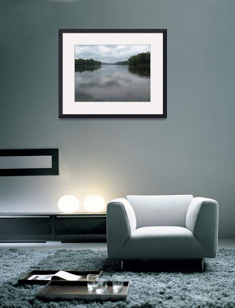 """Connecticut River""  (2009) by oldawnie"