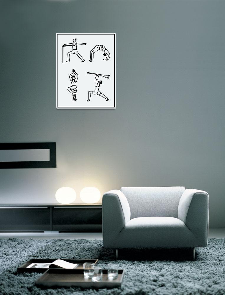 """Yoga Men""  (2012) by monikaaichele"