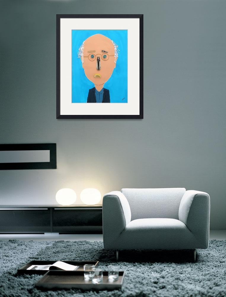 """""""Larry David&quot  by pivenworld"""