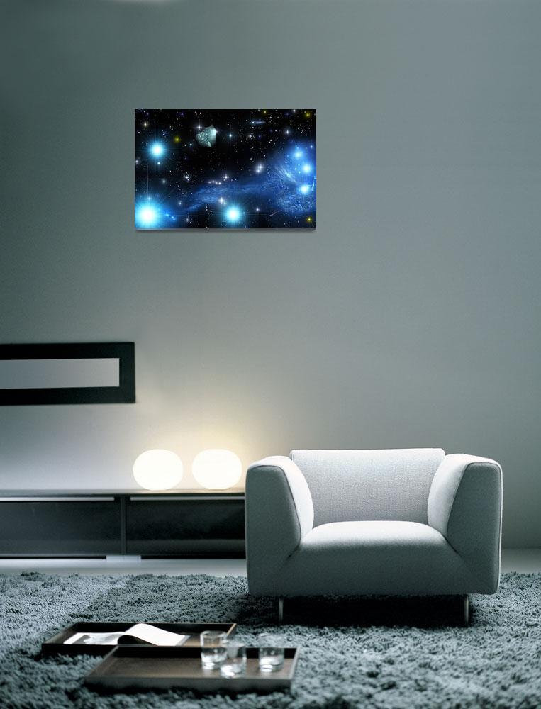 """Jumping Fish Nebula&quot  (2009) by RandallKlopping"