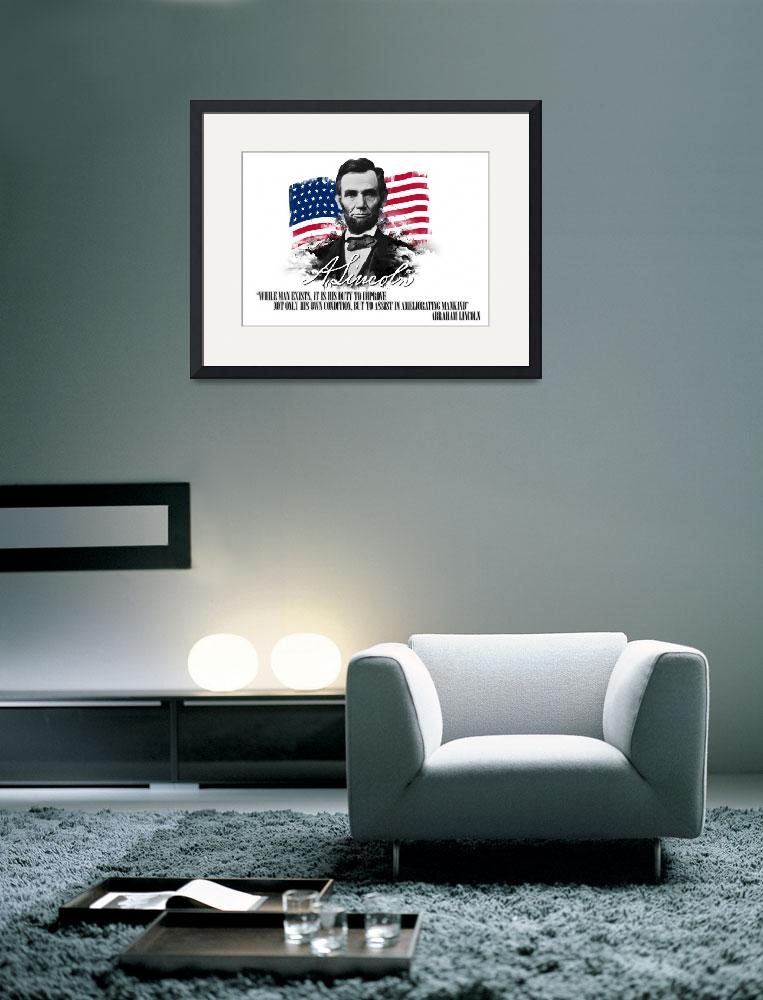 """""""Abraham Lincoln """"Ameliorating mankind""""""""  (2012) by charlesrivereditors"""