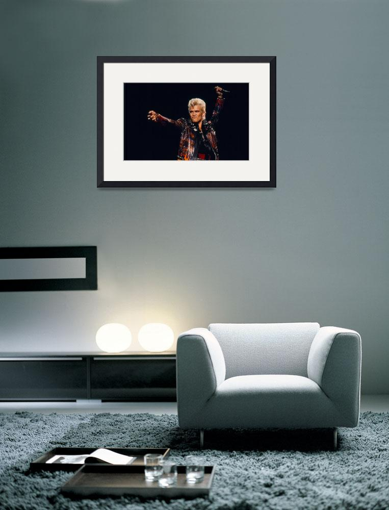 """Billy Idol&quot  by classicrockphotos"