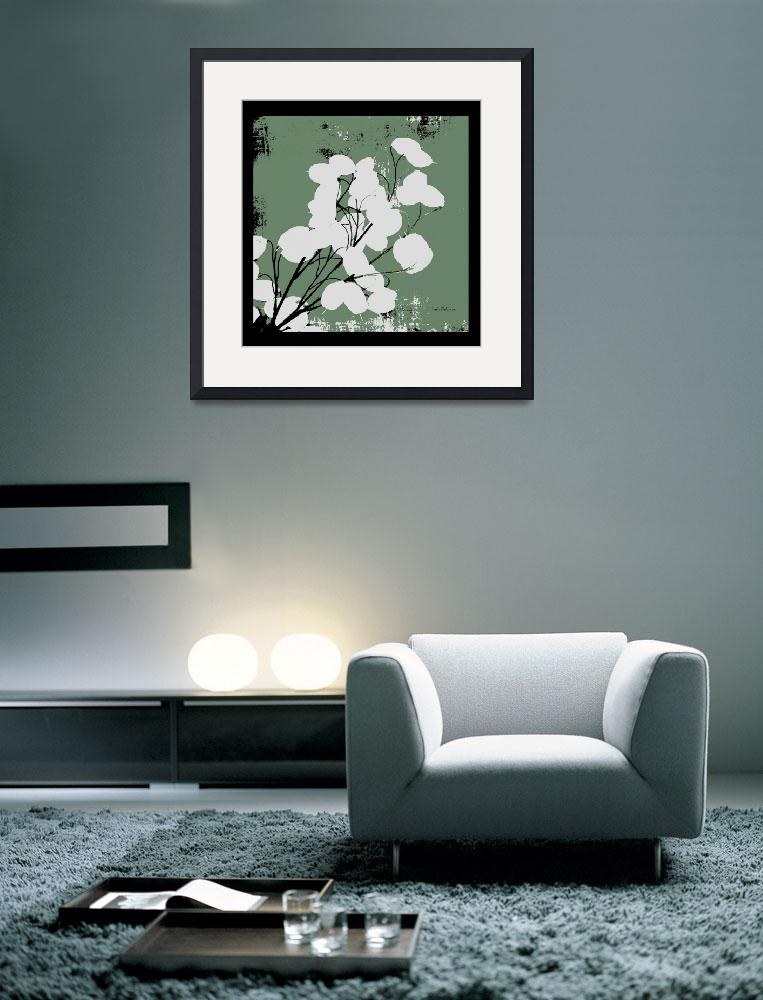 """""""Calm Green Money Plant&quot  (2008) by HerbDickinson"""