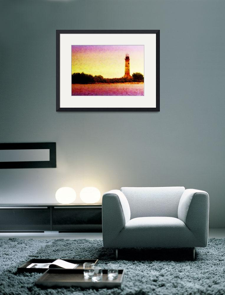 """SABINE PASS LIGHTHOUSE&quot  (2010) by sneedzone"