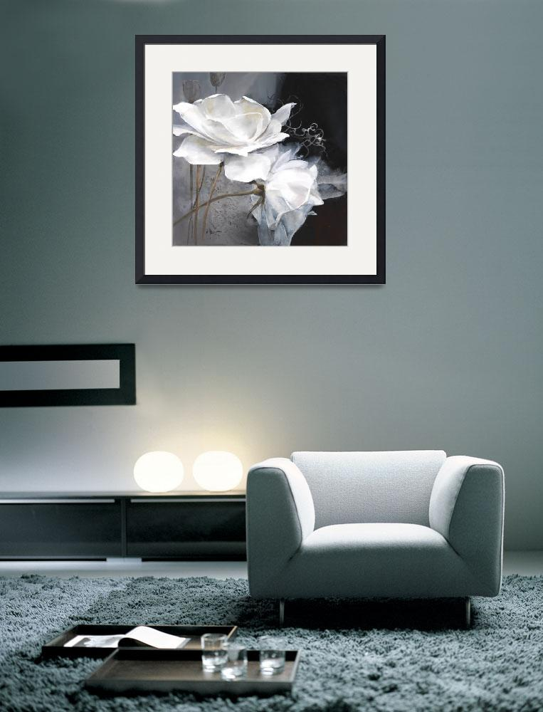 """""""WH  White flower 1&quot  (2010) by willemhaenraets"""
