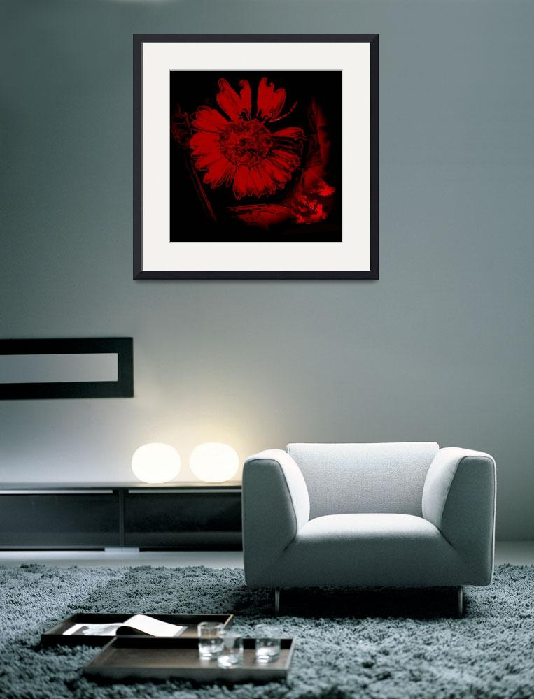 """""""Wonderful flower&quot  (2008) by PepitaSelles"""