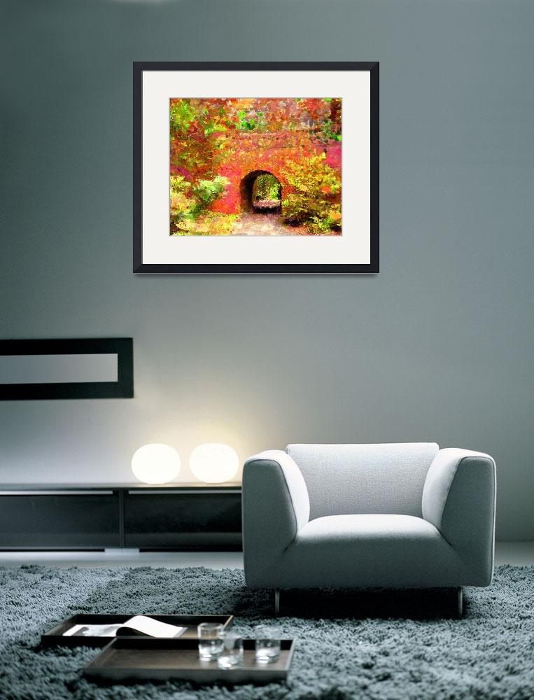 """""""Biltmore Tunnel&quot  (2009) by marilynsholin"""