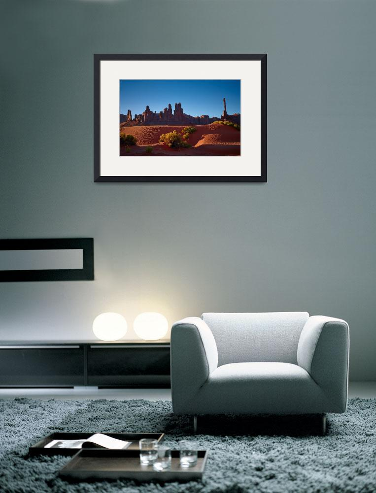 """""""Monument Valley Dunes&quot  (2012) by GregStringham"""