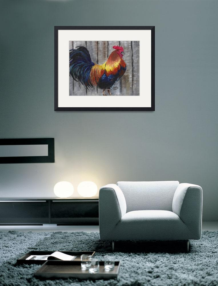 """""""Rooster""""  (2013) by ARTistic_Anne"""