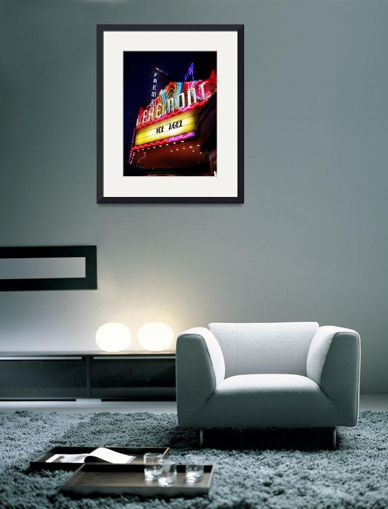"""""""fremont theater&quot  (2006) by studiobrian"""