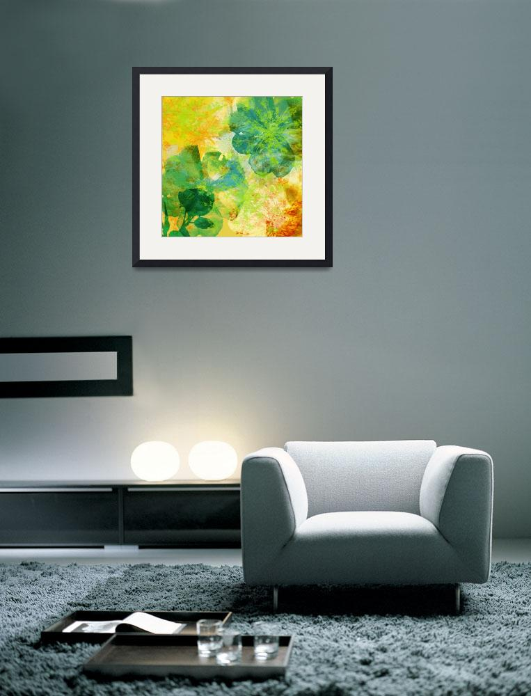 """""""Modern Floral II&quot  (2010) by rickimountain"""