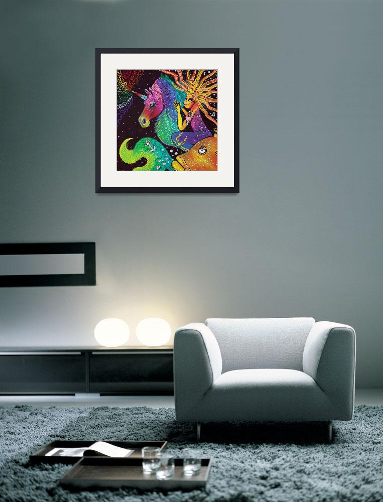 """""""Ride The Rainbow&quot  (2014) by ArtPrints"""
