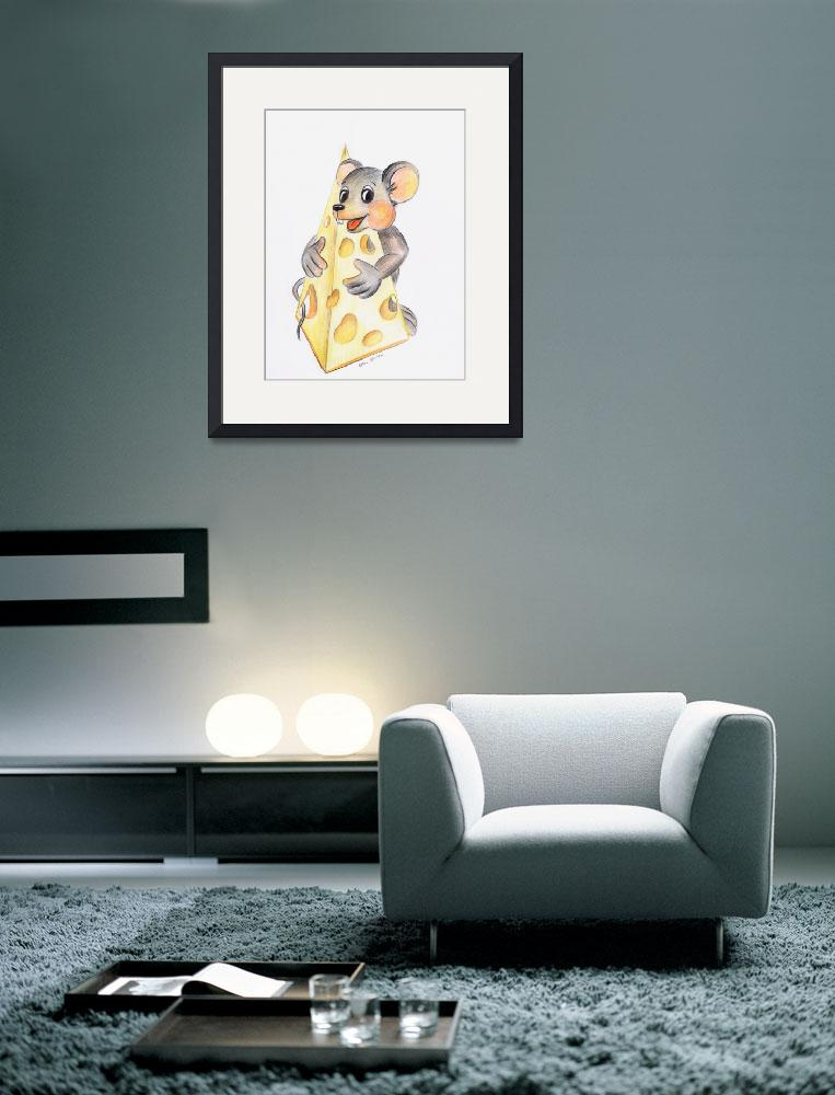 """""""Birthday mouse&quot  (2006) by NewArtLine"""