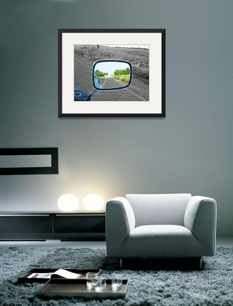 """""""Rearview Mirror&quot  (2012) by trehilt"""