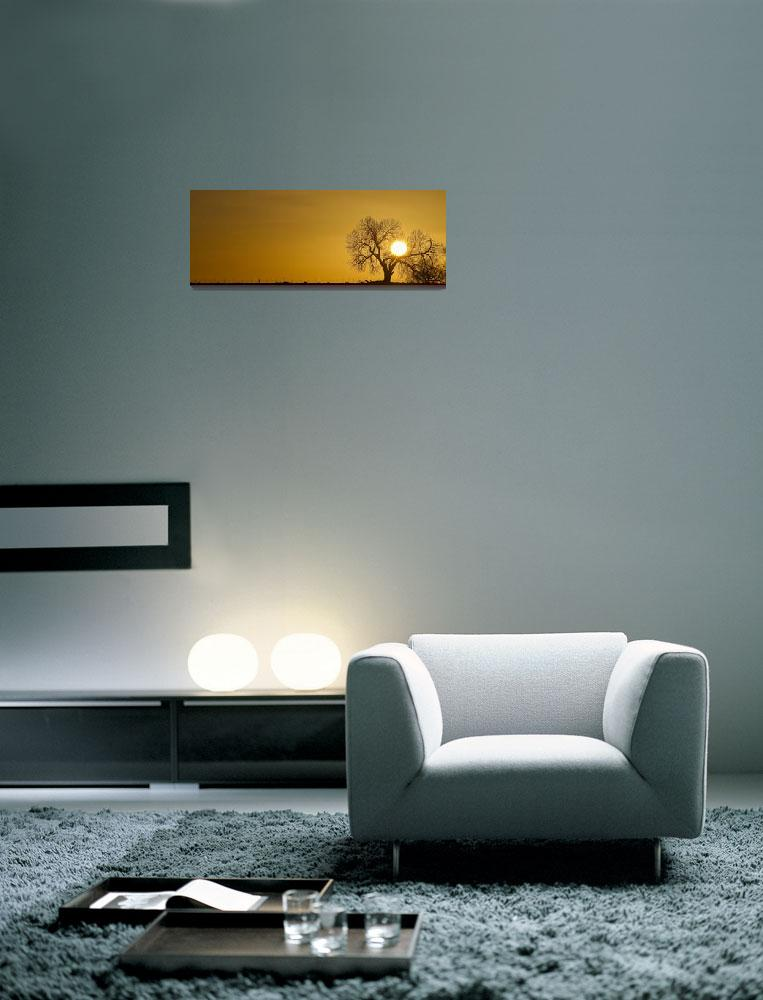 """""""Rising Sun Panorama""""  (2012) by lightningman"""