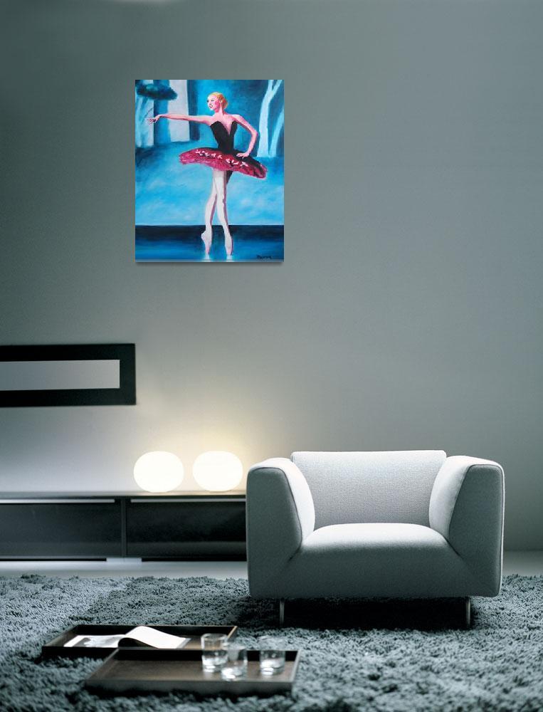 """Ballerina""  (2009) by MaureenArt"