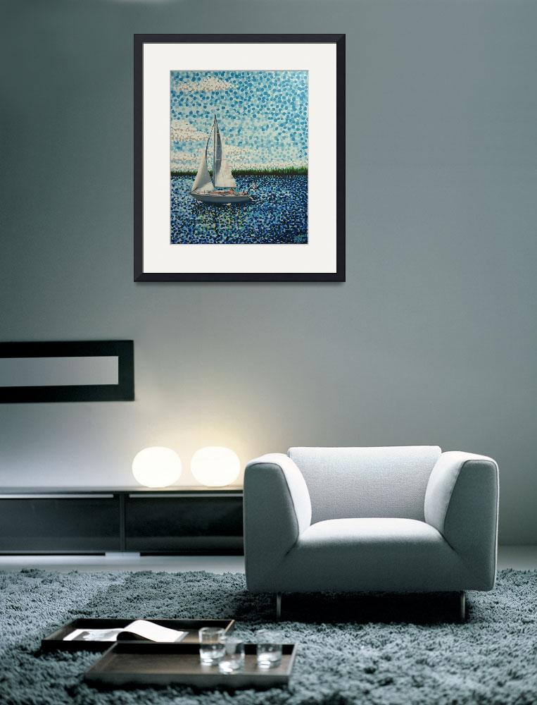 """""""Sailing with Olivia&quot  (2011) by alanhogan"""