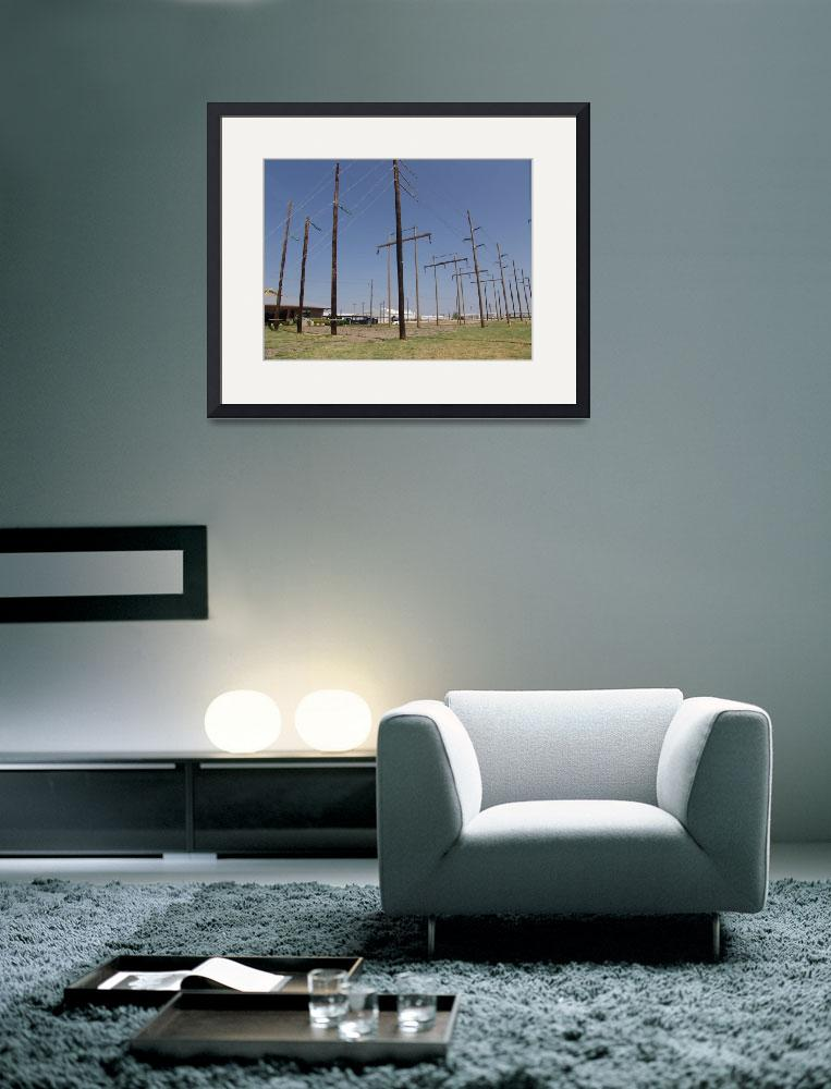 """""""115-kV Armless and H-Frame Structures&quot  (2012) by TheElectricOrphanage"""