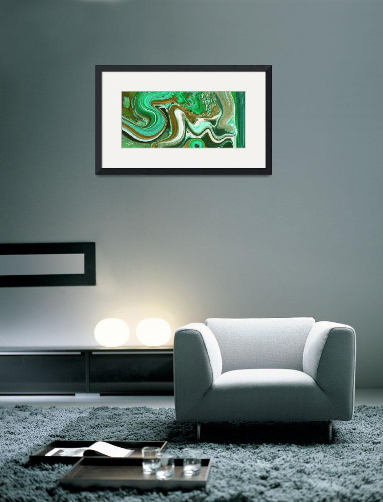 """Al Mubdi Allah name Painting&quot  (2008) by hamidsart"