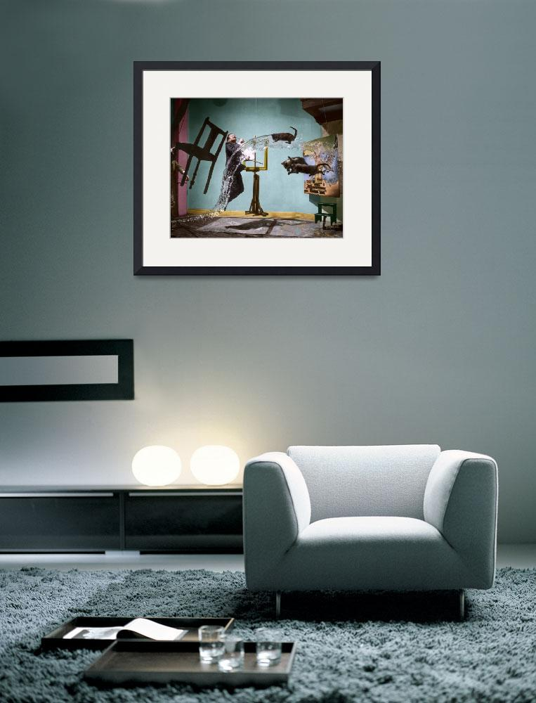 """""""Dali Atomicus Colorized&quot  (2010) by hton"""