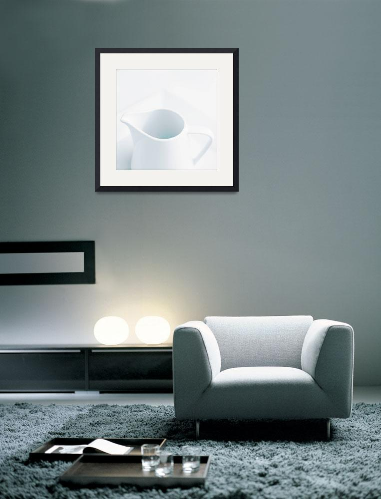 """""""White jug on white&quot  (2008) by rtphotography"""