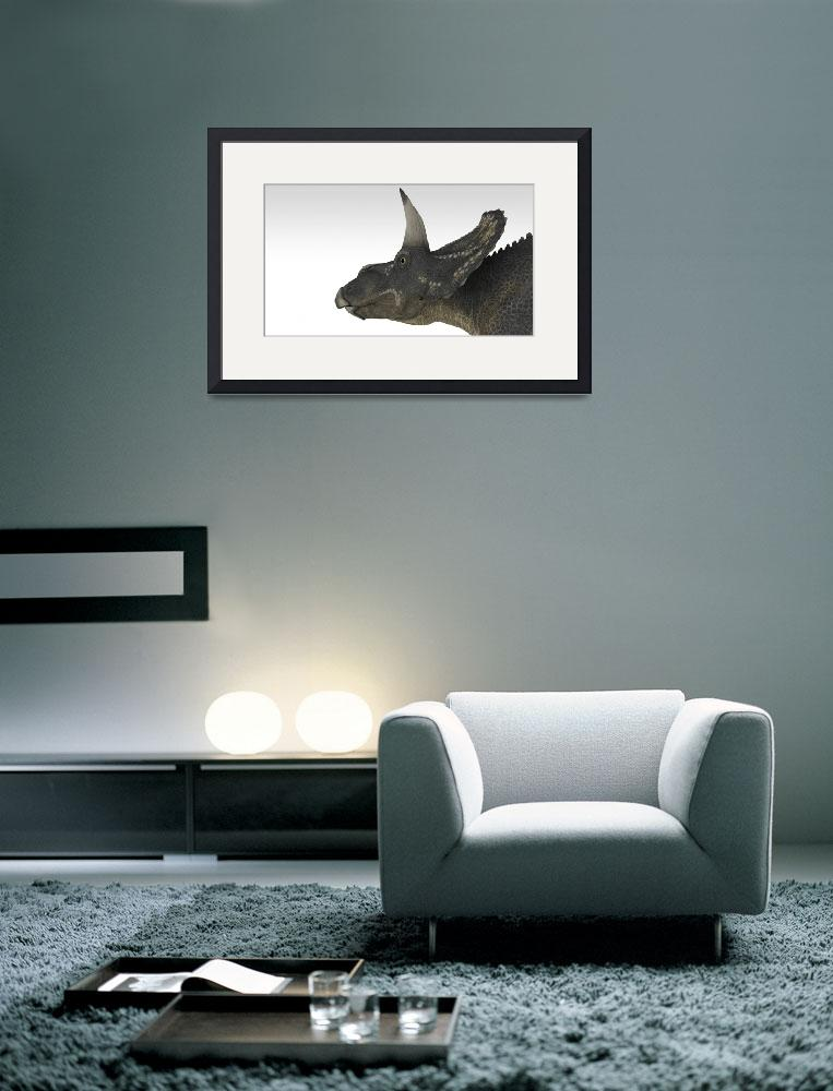 """""""Triceratops""""  by stocktrekimages"""