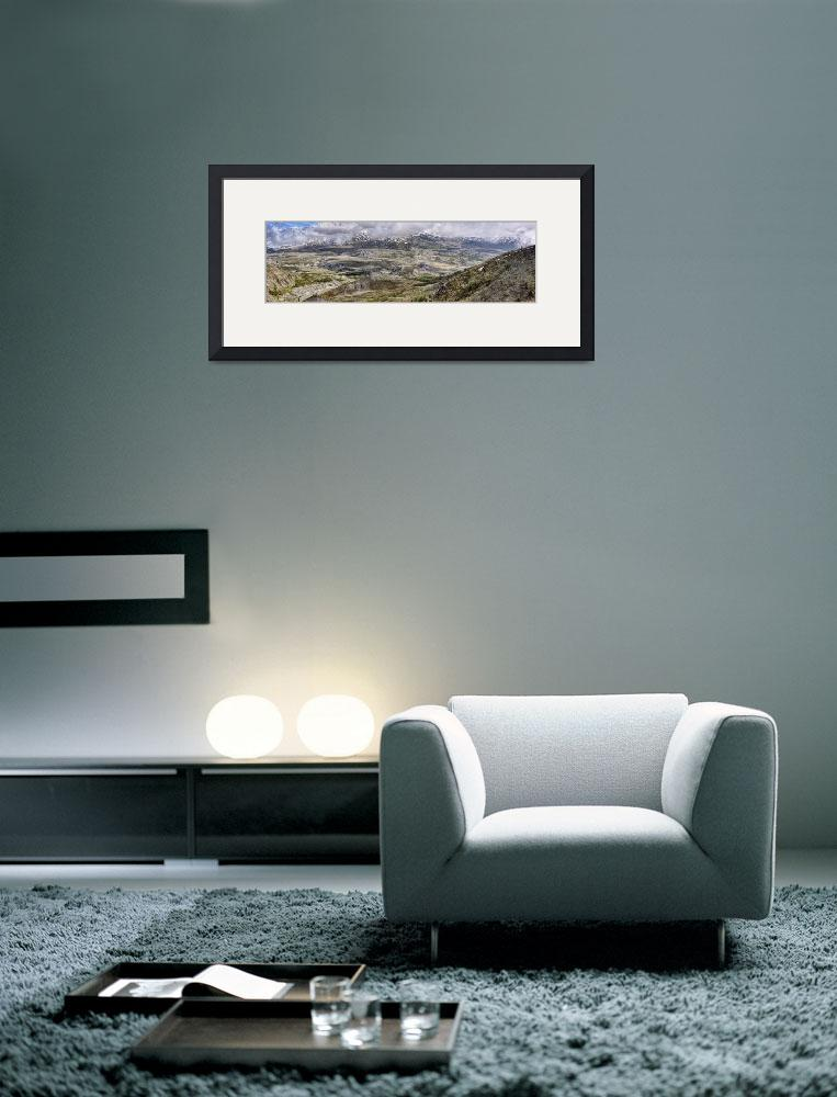 """""""Mount St. Helens Panorama2""""  (2011) by PaulCoco"""
