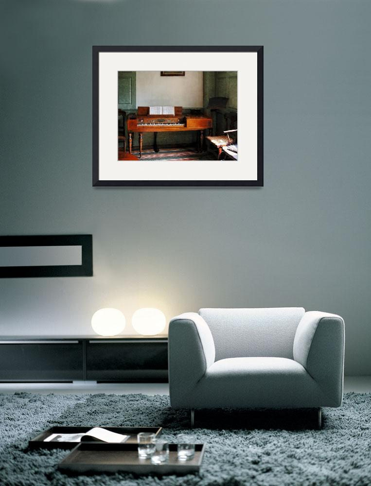 """""""Music Room With Piano&quot  by susansartgallery"""