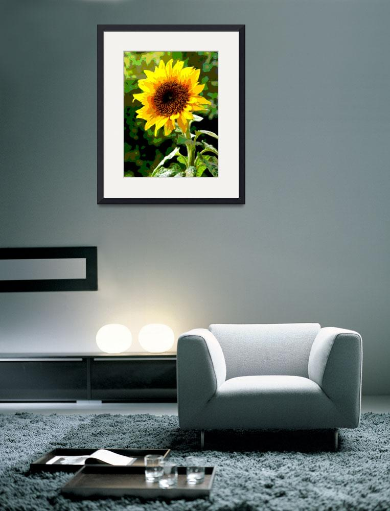 """""""Sunflower Enhanced&quot  (2013) by TheNorthernTerritory"""