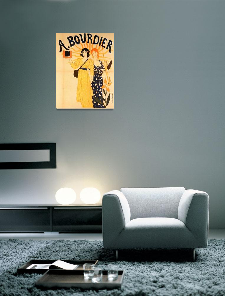 """""""Advertisement for Bourdier cameras""""  by fineartmasters"""