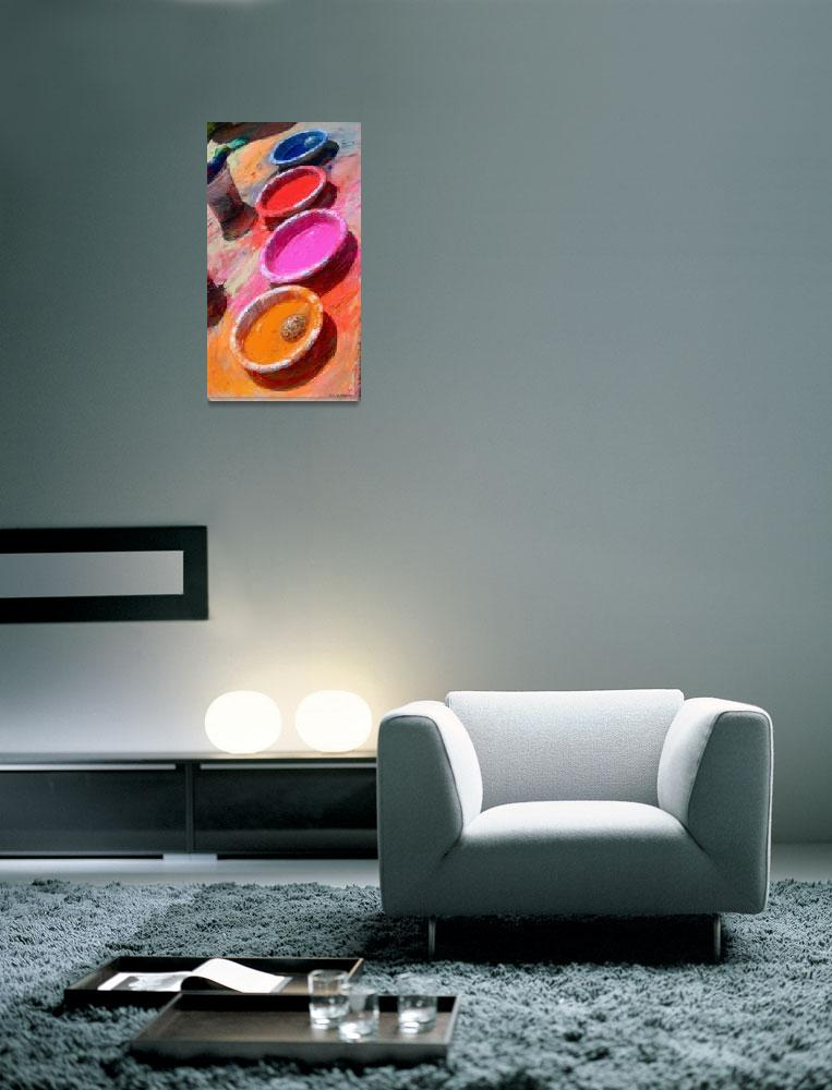 """""""Bowls of Color&quot  (2010) by RGMcmahon"""
