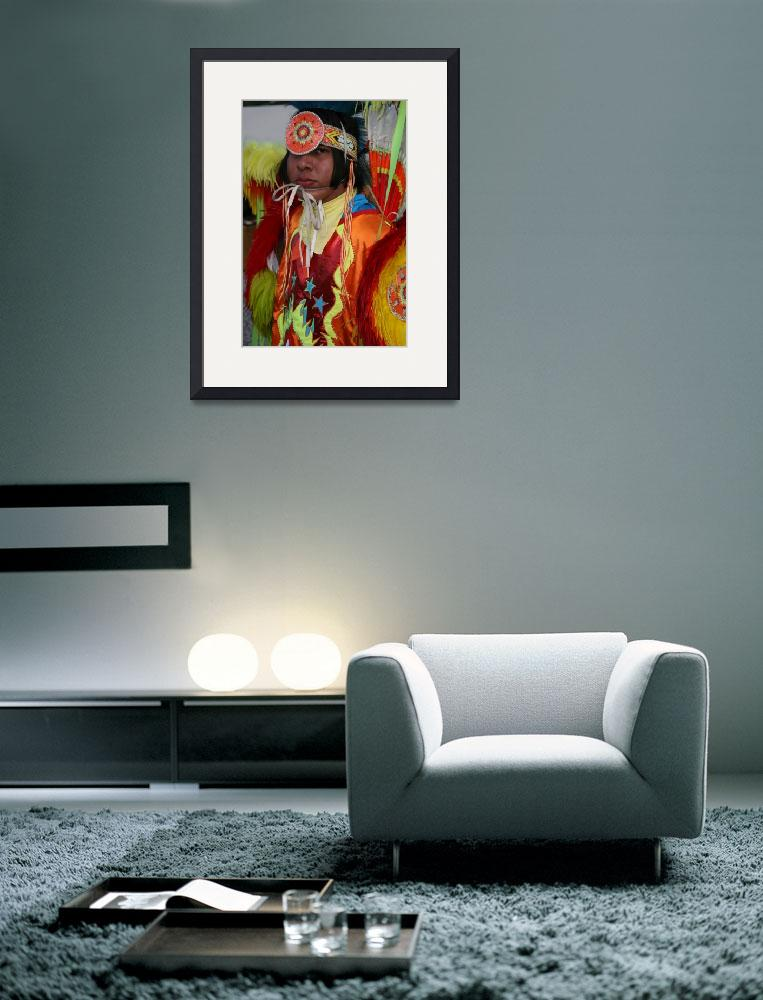 """""""Native American #5""""  (2007) by arthurcurley"""