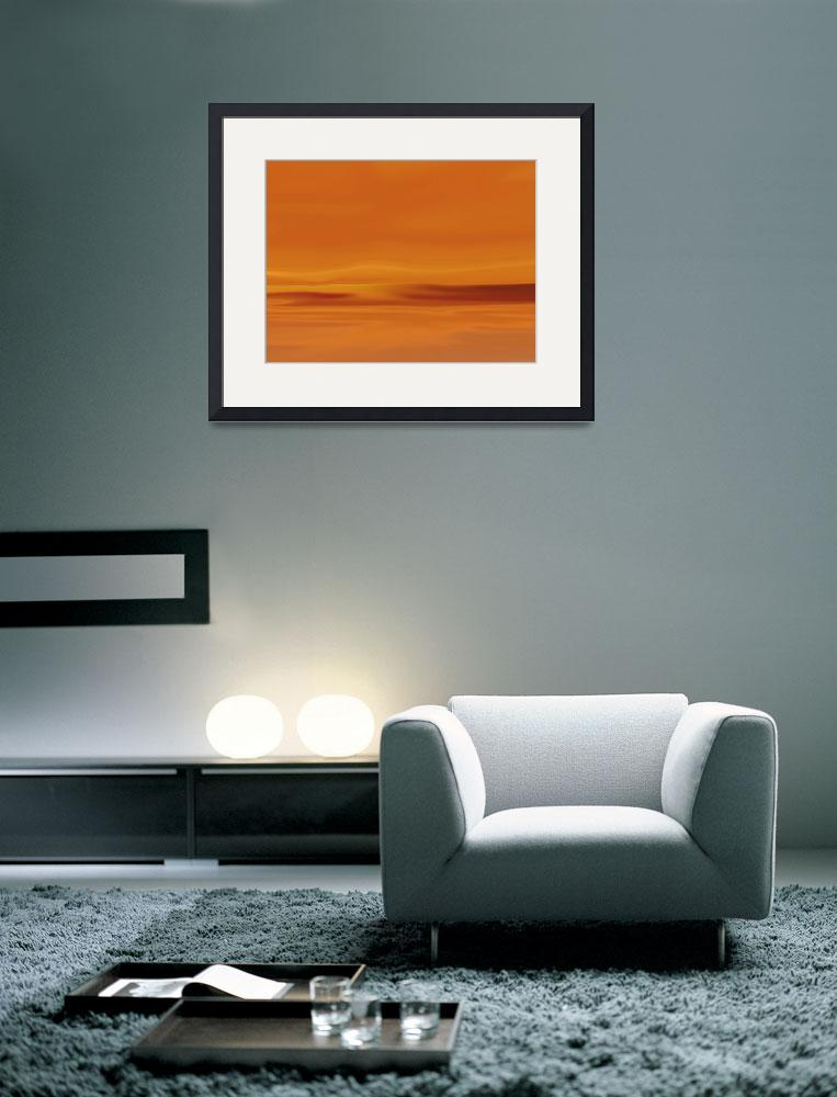 """""""Dunes At Sunset&quot  (2009) by TimStringer"""
