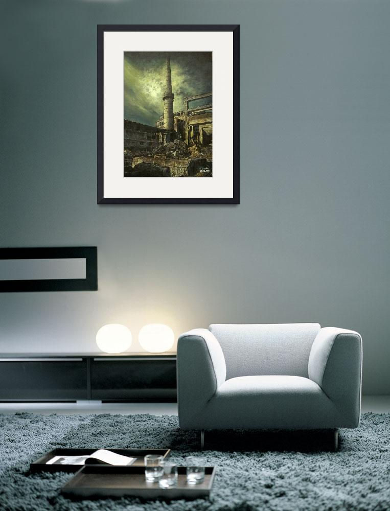 """""""industrial landscape""""  (2007) by LevinArtGallery"""