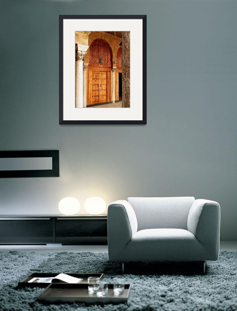 """""""Arches in the Mosque&quot  (2007) by rayjacque"""