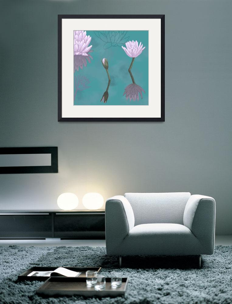 """""""Water lilies (2)&quot  (2010) by angelshair"""