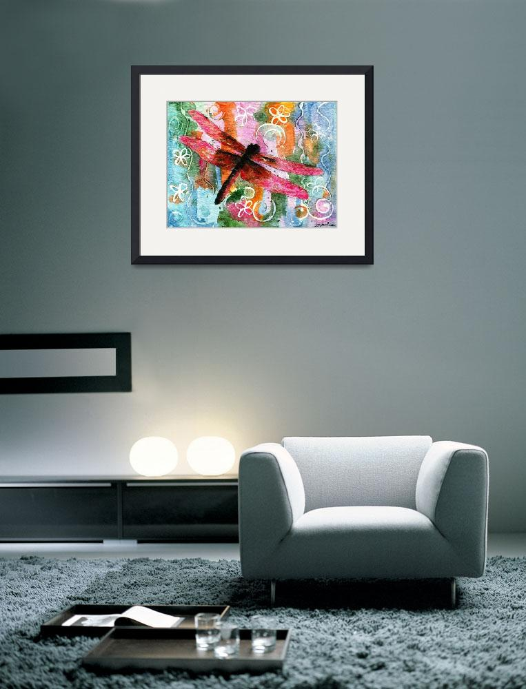 """""""Dragonfly Fairy 1&quot  by schulmanart"""