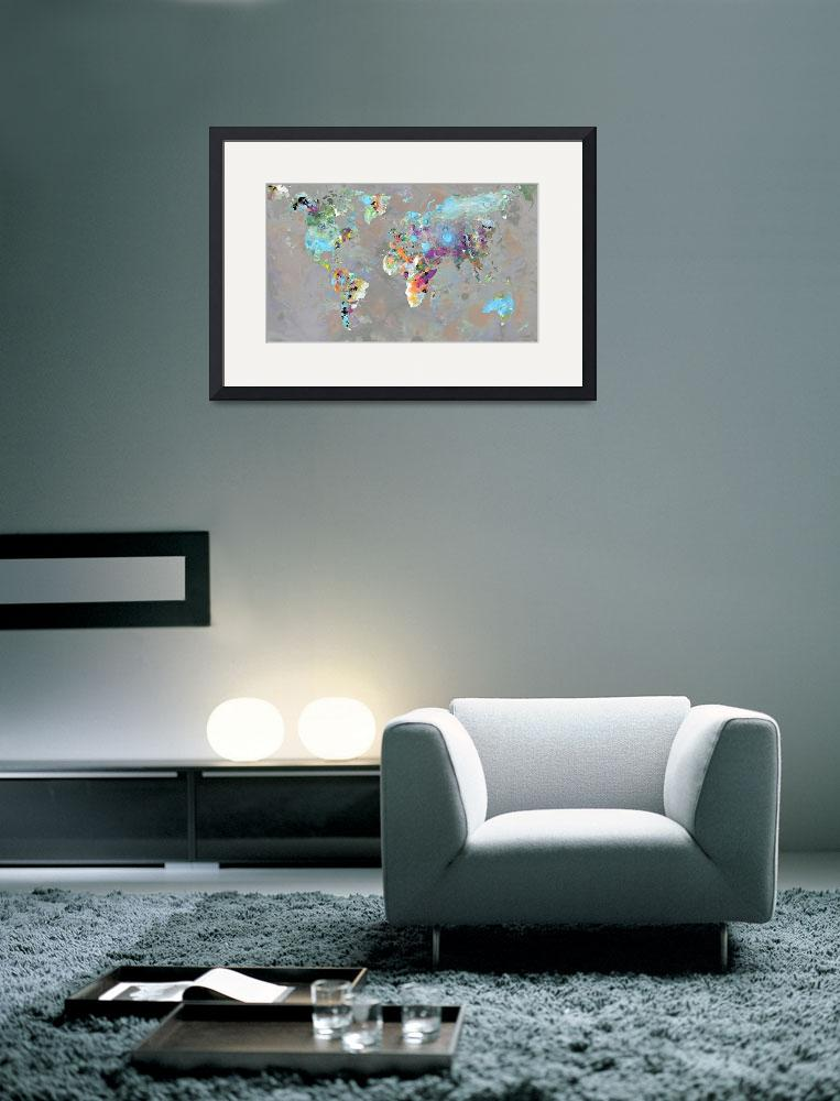 """""""Colorful World&quot  (2011) by FantaSeaArt"""